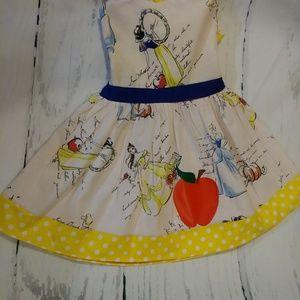 Girl snow white dress